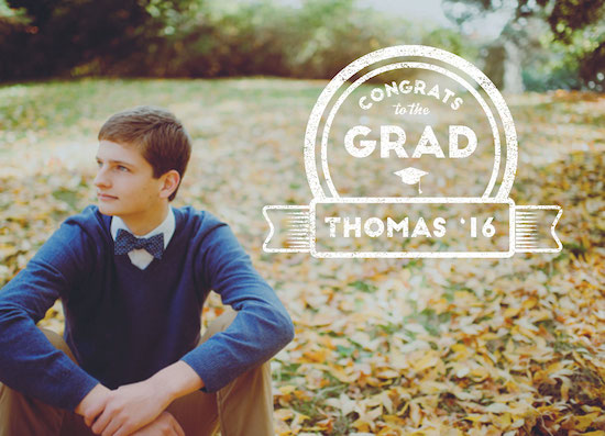 graduation announcements - Sealed Deal by Jale Design