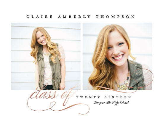 graduation announcements - Impression by Jessica Williams