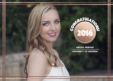 graduation announcements - YOU DID IT by Danielle Dorton