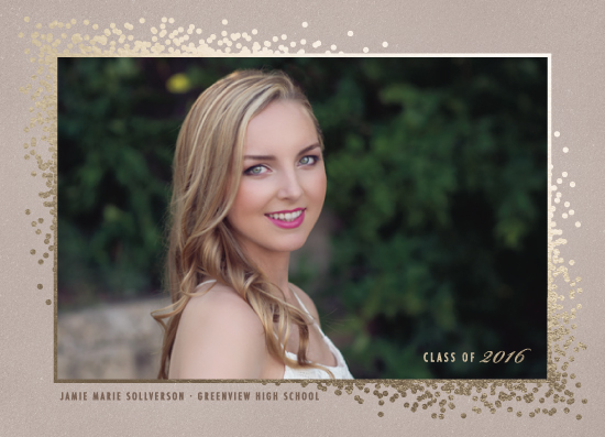 graduation announcements - Stylish Celebration by Colleen Michele