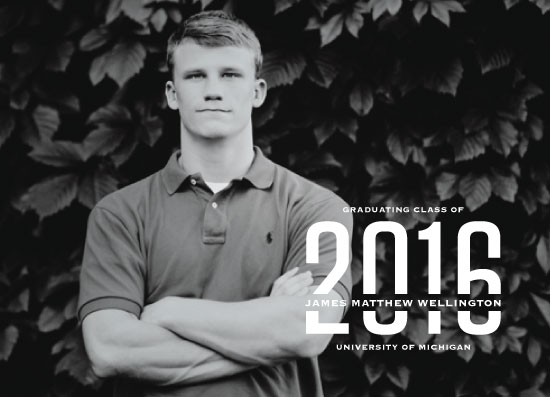graduation announcements - Grad of 2016 by Laura Hamm