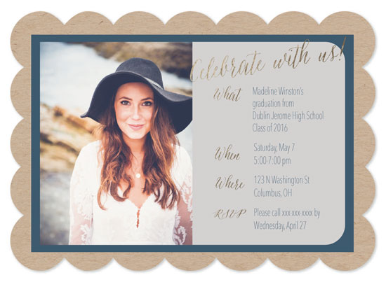 graduation announcements - Country Chic Grad by Madison Stuntz