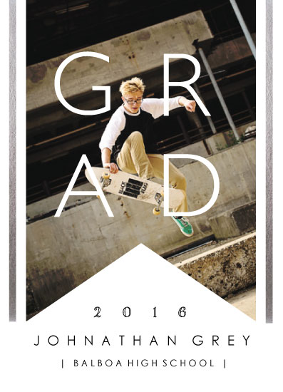 graduation announcements - Grad Boy by Grace Chen
