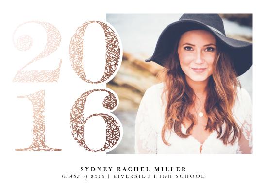 graduation announcements - Fetti Fete by Ashley Hegarty