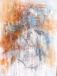 art prints - Abstract Figure by Kelsey Auger