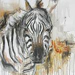 African Zebra by Kelsey Auger