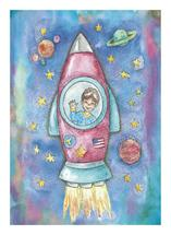 Rocket Ship by Rachel Kennison