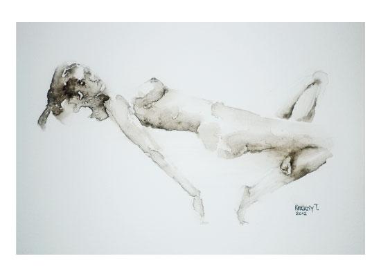art prints - Naked girl 5 by Tetiana Khalazii