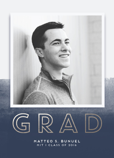 graduation announcements - Ombre Grad by shoshin studio