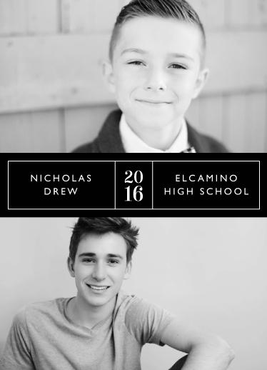 graduation announcements - Then & Now by mistyqe