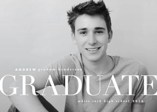 graduation announcements - Pomp and by Lauren Chism