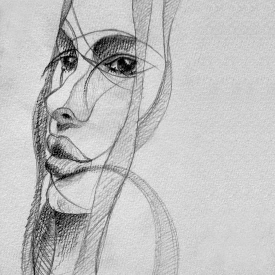 art prints - Portrait by Maria Bazarova