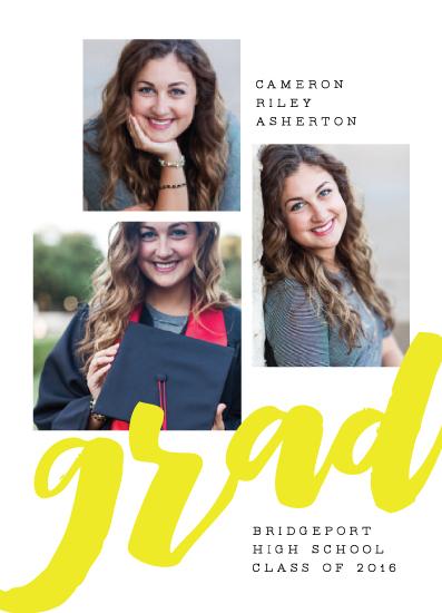 graduation announcements - Spirited by Lea Delaveris