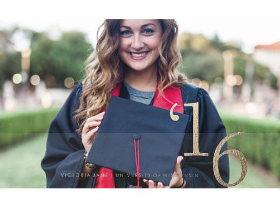 graduation announcements - Smile! by Grace Chen