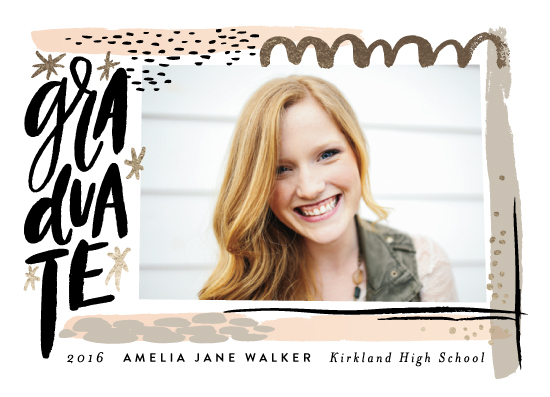 graduation announcements - Mixed Media by Alethea and Ruth