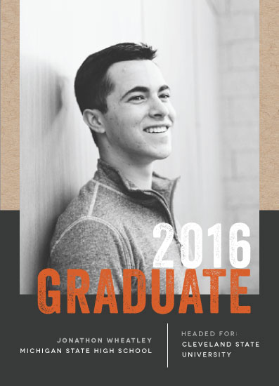 graduation announcements - On Campus by Bonjour Berry