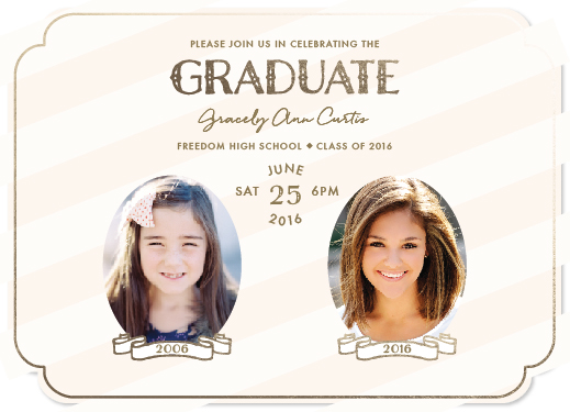 graduation announcements - Banner Portraits by carohug
