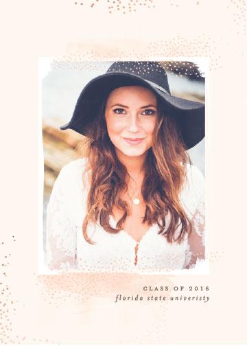 graduation announcements - Boho Grad by Lori Wemple