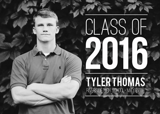 graduation announcements - Class of 2016! by Siera Olson