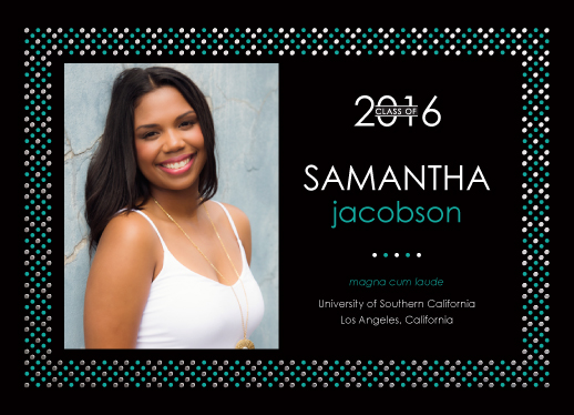 graduation announcements - Shining Grad by mistyqe