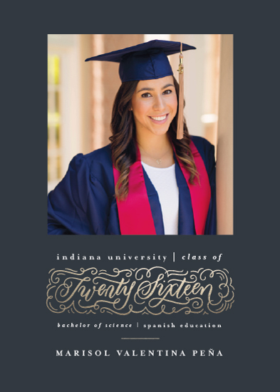 graduation announcements - Embellished Year by Laura Bolter Design