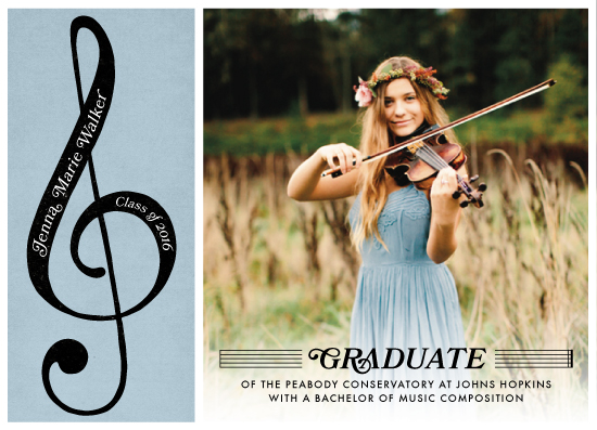 graduation announcements - Conservatory by Cherry Tree