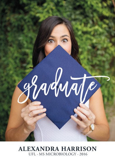 graduation announcements - Praise for the Graduate by Melissa Casey
