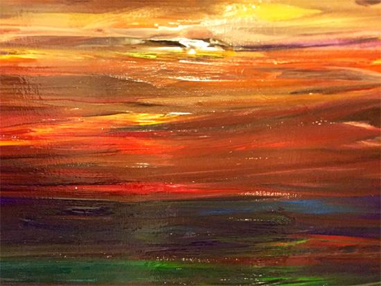 art prints - Sun Gazer by Michelle Jean