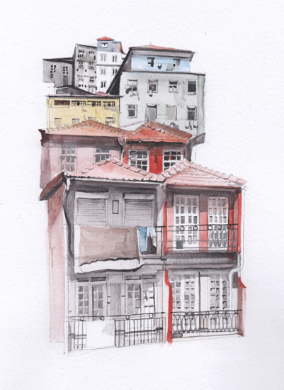 art prints - Portugal by Viktoria Eperjesi