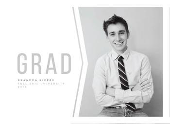 Modern Grey Grad