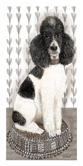 art prints - Poodle Portrait by pamela powell