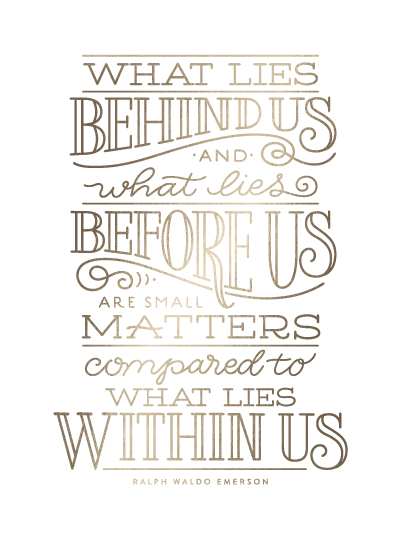 art prints - What Lies Within Us by Laura Bolter Design