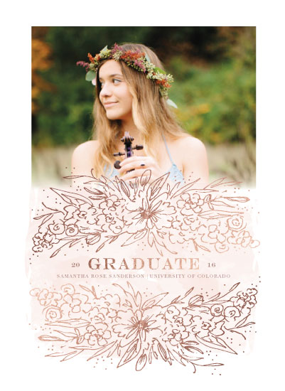art prints - Blooming Graduate by Grace Kreinbrink