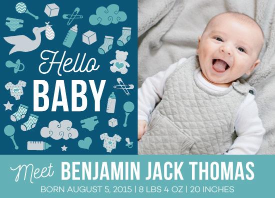 birth announcements - HelloBaby by wondErin wandErin