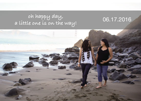 birth announcements - Modern Couple Expecting by taryn bone