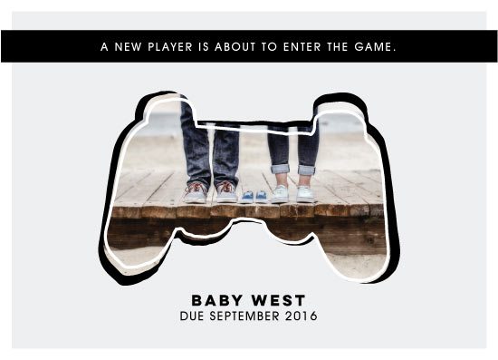 birth announcements - The Game. by Miranda Ohrenberg