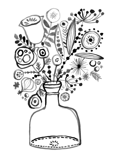 art prints - Bottled Happiness by Eulalia Mejia