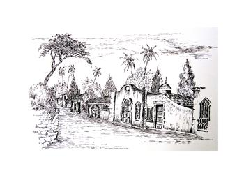 Old Colonial Street