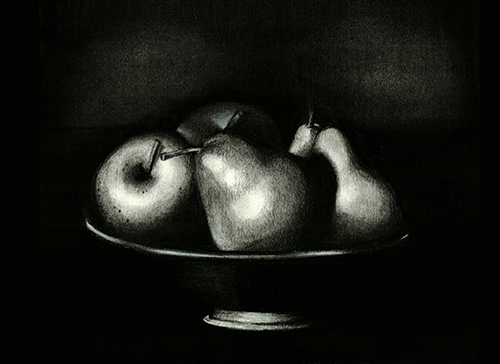 art prints - Still life with Pears by Dena Cooper