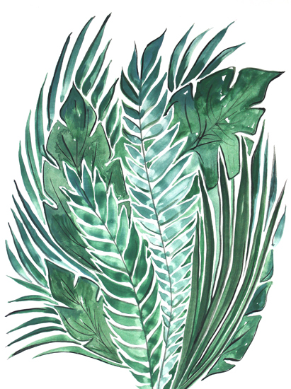 art prints - For the love of green by Alicia Bazan