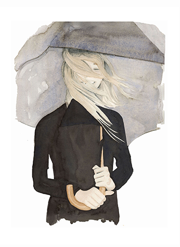 art prints - Under My Umbrella by Dena Cooper