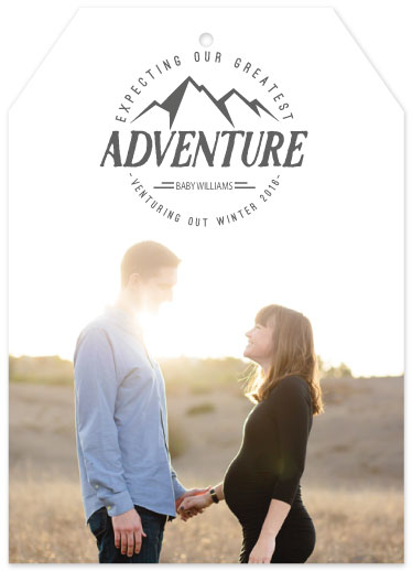 birth announcements - Greatest Adventure by Kelly Clabaugh