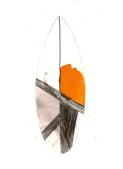 art prints - Surf by Susanna Nousiainen