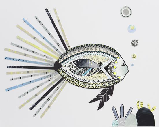 art prints - Linda Fish by Carly Donohue