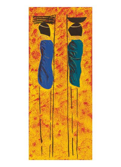 art prints - Masaai by ArtbyPunam
