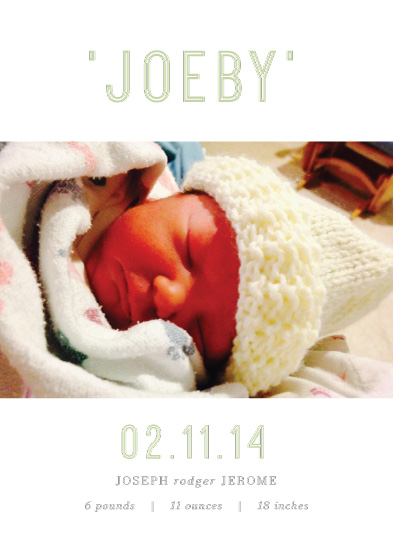 birth announcements - Serenity by Brydon Holsey