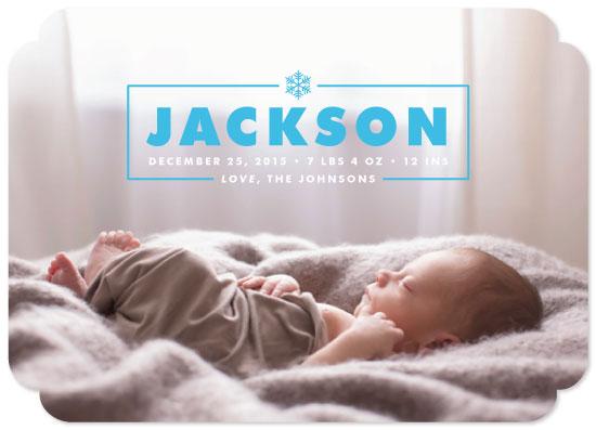 birth announcements - Winter Baby by heythird