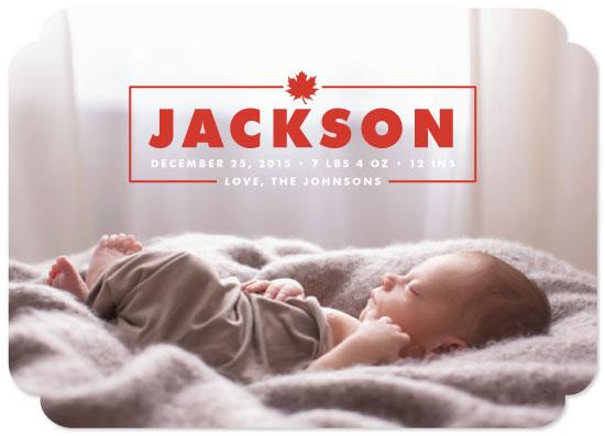 birth announcements - Autumn Baby by heythird
