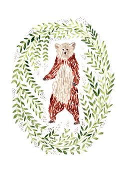 Sweet Bear and Wreath of Montana