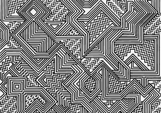 art prints - Aztec by Iris Calderon